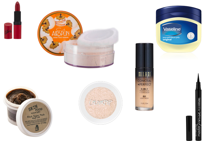 Top 10 Beauty Products Under AED 50