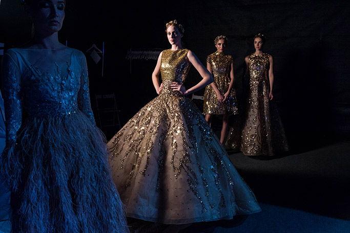 Fashion shows at BRIDE Dubai