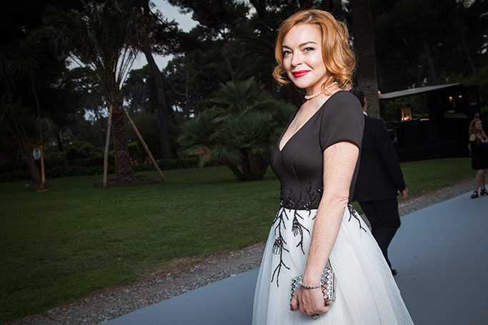 Lindsay Lohan is building an island in Dubai