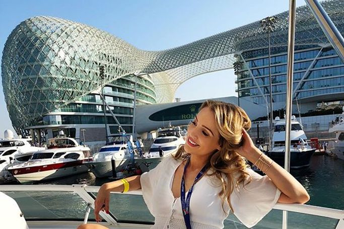 UAE's Best Dressed:  Abu Dhabi Grand Prix