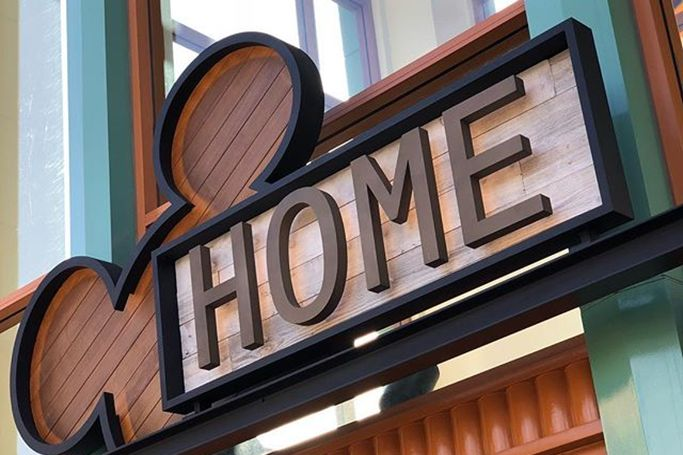 New home store at Disneyland