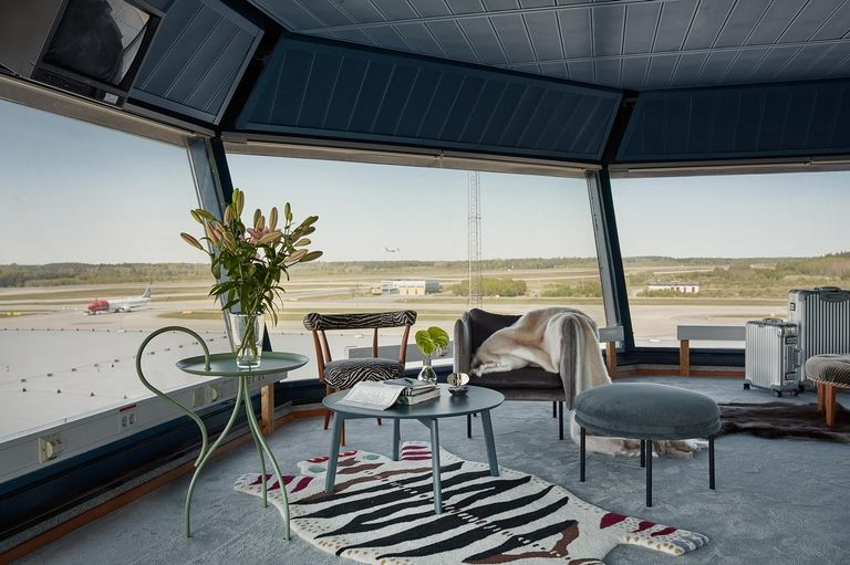 Stockholm Air Control Tower Makeover