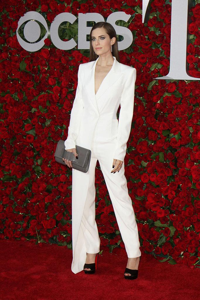 Allison Williams at The Tony Awards 2016 in DKNY