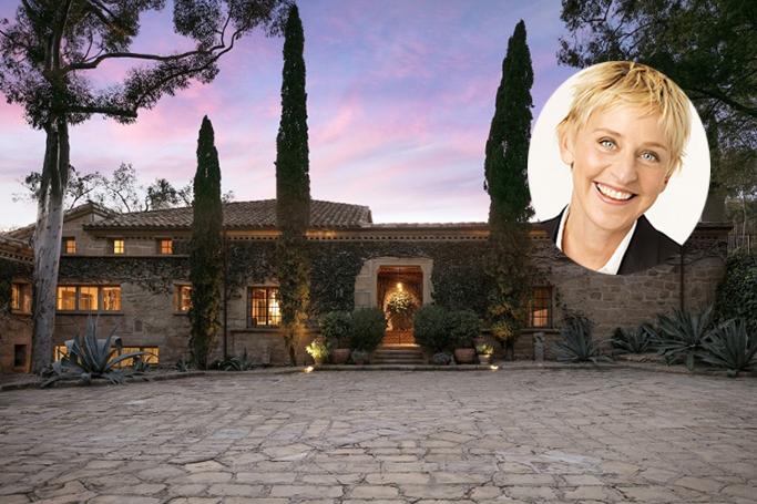 Inside Ellen DeGeneres' Gorgeous $45 Million Home