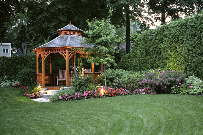 How To Dress Up Your Garden Gazebo ewmoda