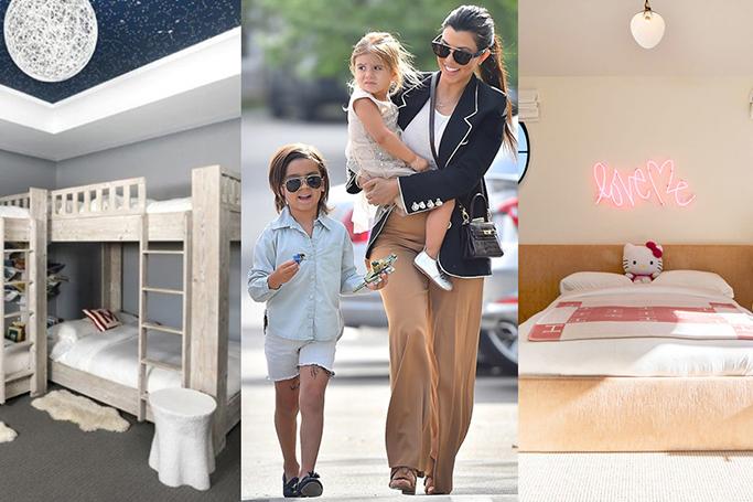 Kourtney Kardashian's Children's Rooms