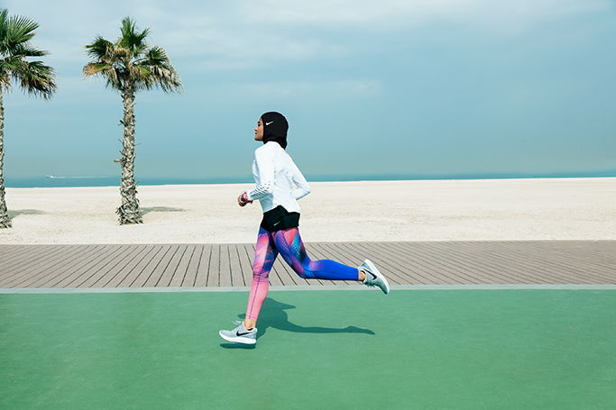 Shop the Nike Pro Hijab online in Dubai