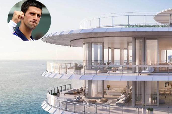 Inside Tennis Legend Novak Djokovic Stunning Miami Home