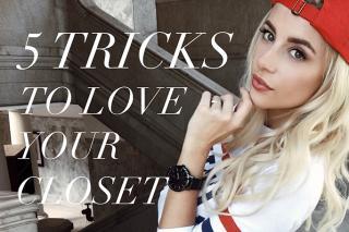 Tricks to love your closet