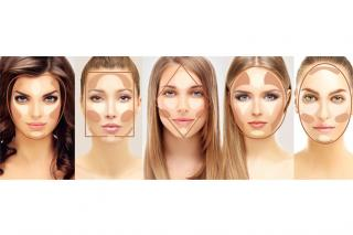 How to contour according to face shape