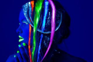 Glow in the Dark Hair Trend
