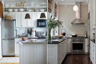 How To Make Your Small Kitchen Look Bigger & Brighter