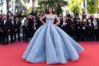 Aishwarya Rai Michael Cinco Cannes 2017