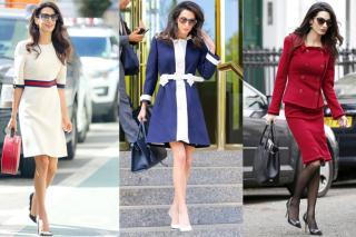 Amal Clooney workwear inspiration