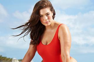Even Ashley Graham Isn't Always Confident In A Swimsuit