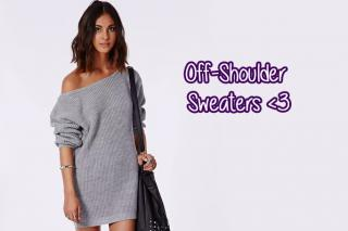 off shoulder sweater dubai