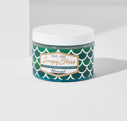 Soapy Bliss Mermaid Whipped Sugar Scrub