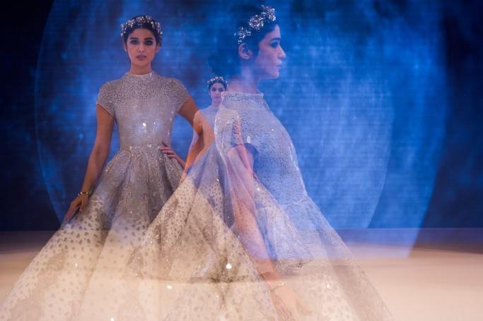Bridal fashion at BRIDE Dubai