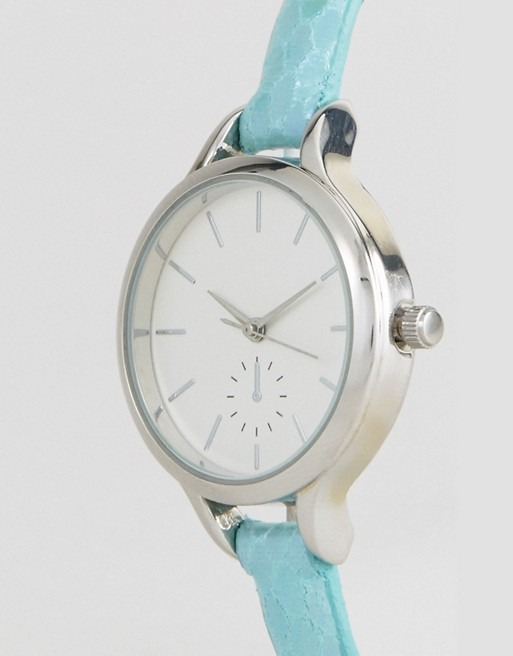 New Look Mermaid Skinny Strap Watch