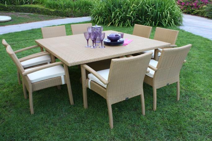 ambar garden furniture nice dining table - Garden Furniture Dubai