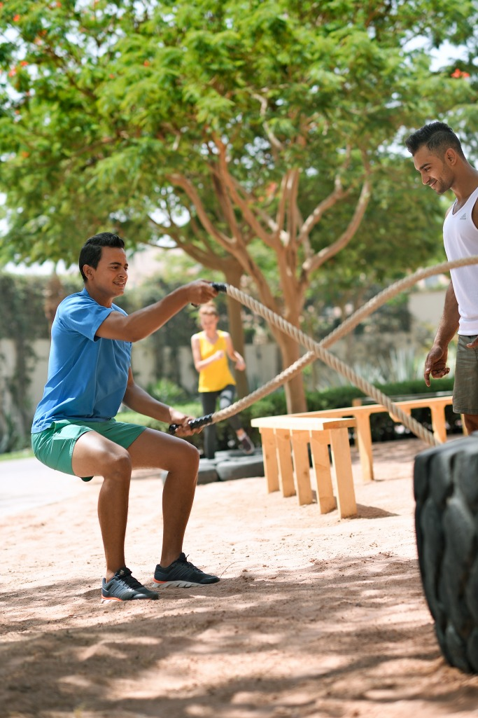 Boot camp at Movenpick Tala Bay