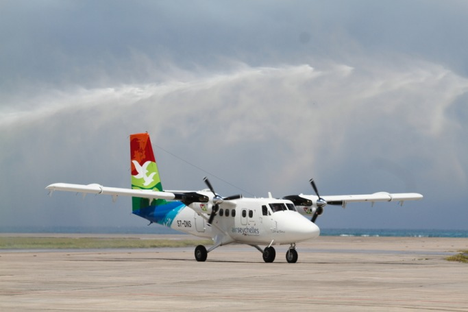 Scenic Flight with Air Seychelles