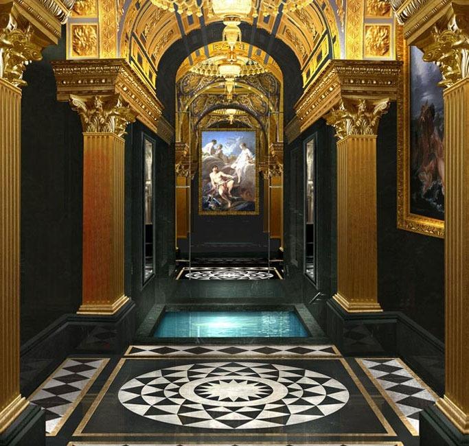 The 13 - Roman Bathrooms