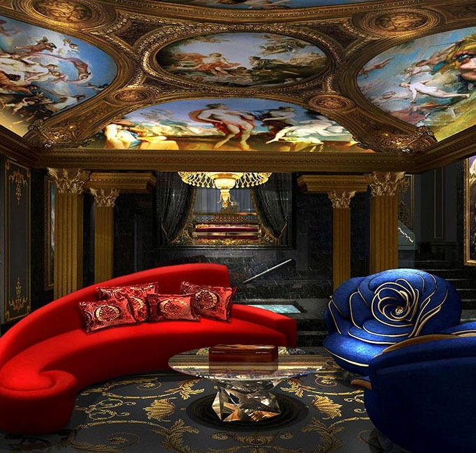The 13 - Villa Living Room