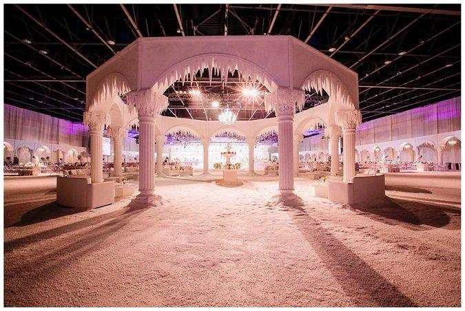 winter wedding inspiration in Dubai