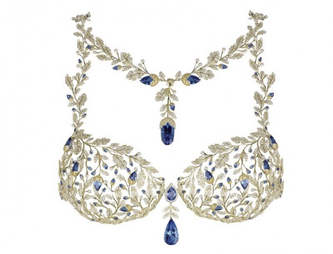 Victoria Secret Fantasy Bra by Middle East jewellers