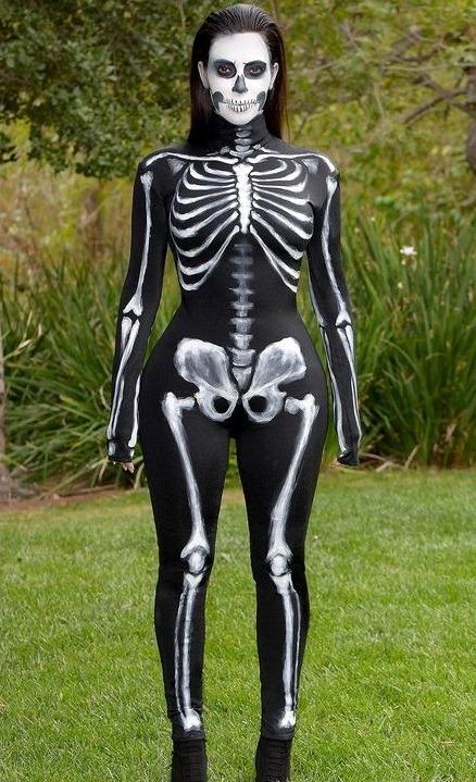 Kim K halloween costumes