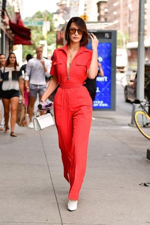 The Hadid Sisters' Top 2017 Street-Style Looks