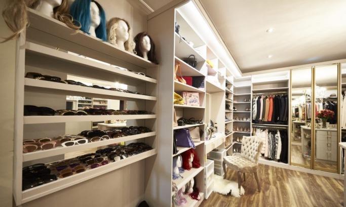 Inside Beauty Icon, Huda Kattan's Closet