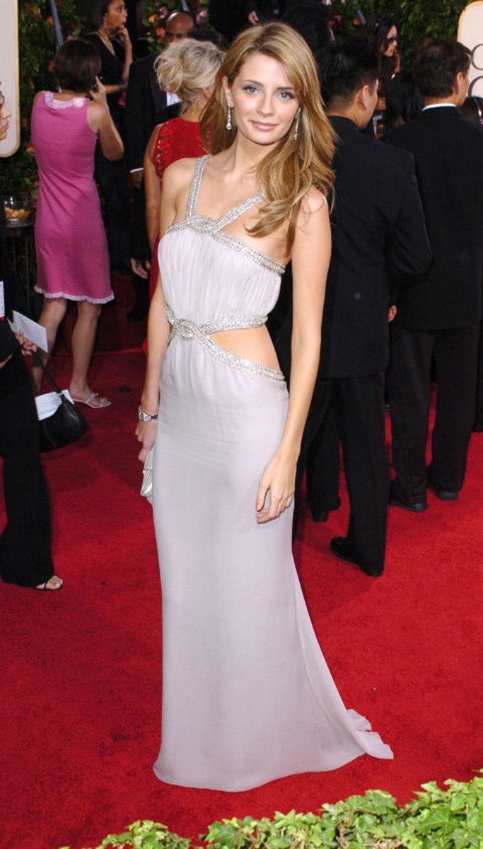 Mischa Barton At The Golden Globe Awards 2005