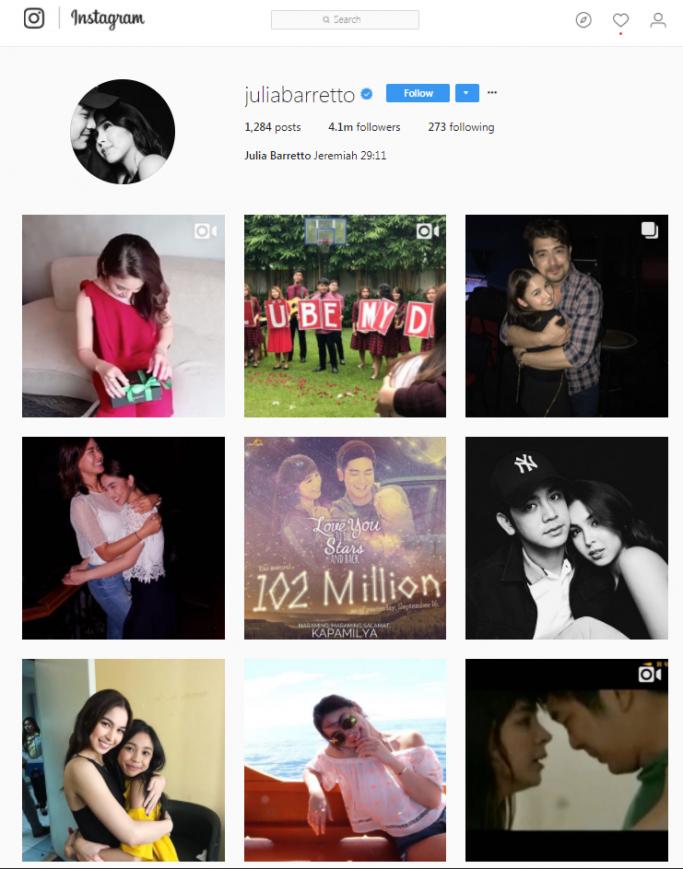 Julie Barretto - Pinoy on Instagram