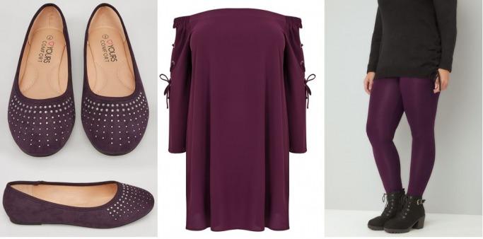 Autumn/fall fashion trends 2017 - purple