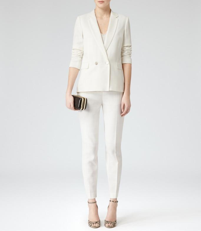 Reiss - White Pantsuit