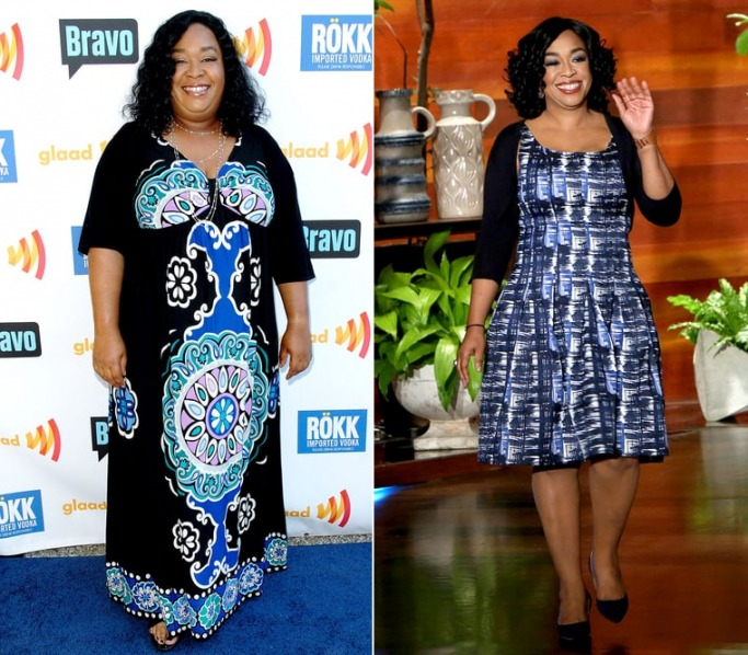 Shonda Rhimes weight loss