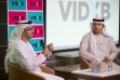 Jamal Al Sharif and Omar Butti at VIDXB launch