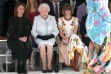 A Royal Front Row: Queen Elizabeth At London Fashion Week