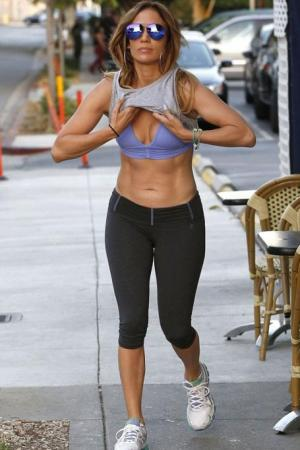 celeb workout wear