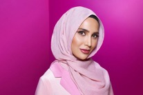 Hijab-Wearing Amena Khan Stars In New L'Oréal Paris Hair Ad