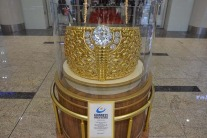 The world's largest gold ring in Sharjah