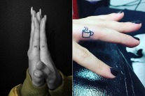 15 Tiny Finger Tattoos