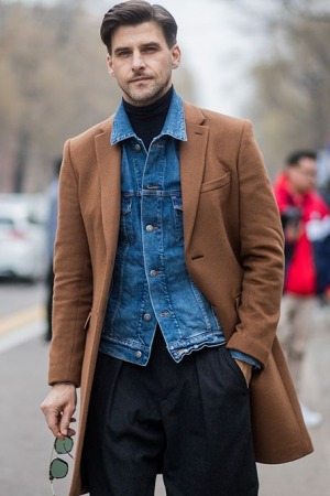 Street style looks from Men's fashion week 2018