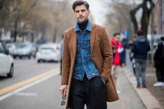 Street style looks from Men's fashion week 2018