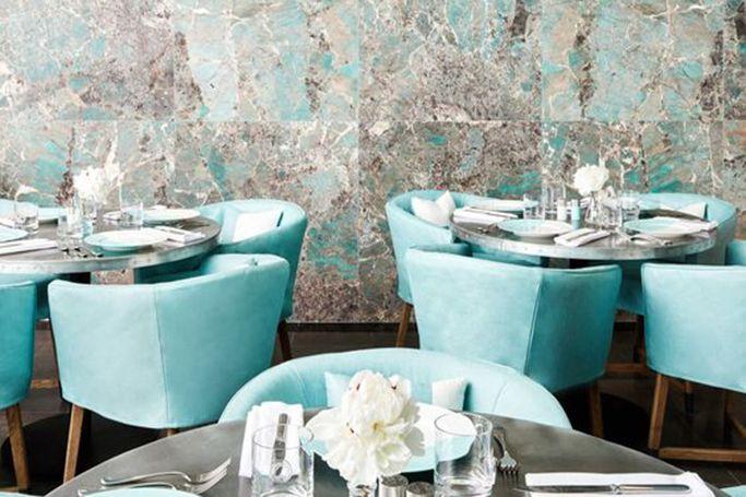 Tiffany & Co open Blue Box Café in New York