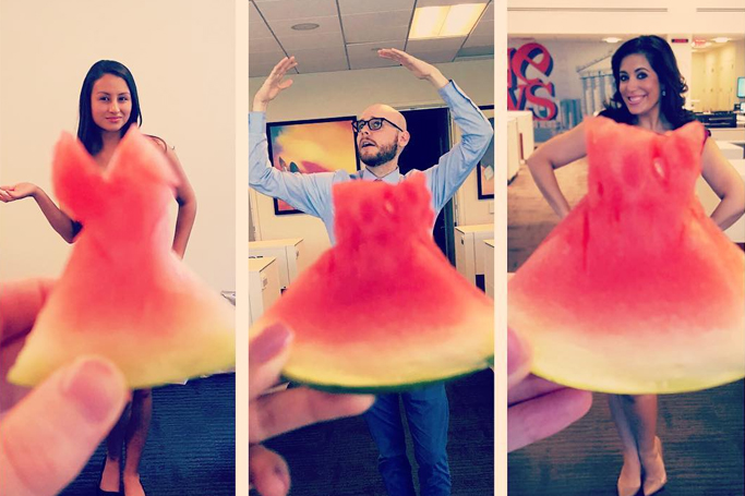 Watermelon 'Dresses' Are Taking Social Media By Storm