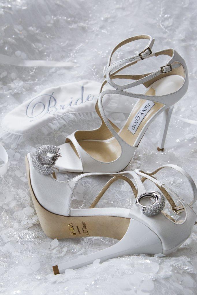 Victoria Swarovski wedding dress