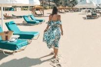 Dubai's style stars at the beach